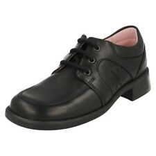 Girls Startrite Formal Lace Up School Shoes Charm
