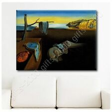 Synthetic CANVAS +GIFT The Persistence Of Memory Melting Clock Salvador Dali