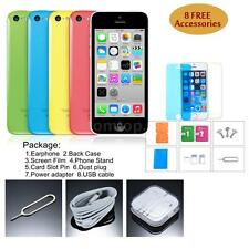 "Apple iPhone 5C Smartphone 3G WCDMA Dual Core 4"" 8GB ROM 8MP GPS All Color H4M4"