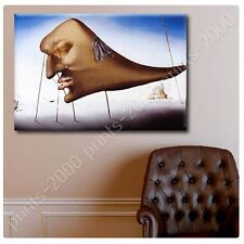 POSTER or STICKER +GIFT Decals Vinyl Sleep Face Salvador Dali Pictures Poster
