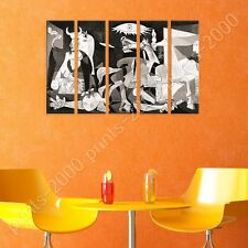 POSTER or STICKER +GIFT Decals Vinyl Guernica Pablo Picasso 5 Panels Poster