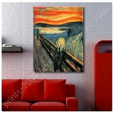 POSTER or STICKER +GIFT Decals Vinyl The Scream Edvard Munch Wall Decor
