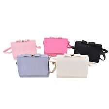 Women PU Leather Shoulder Bag Clutch Handbag Fashion Tote Purse Hobo MessengerWK