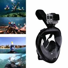 Swimming Snorkeling Full Face Diving Mask Snorkel Scuba for GoPro Swim S/M/L/XL