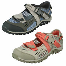 LADIES MERRELL CLOSED TOE RIPTAPE CASUAL SHOES WATERPRO CRYSTAL J82280 J82284