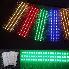 20Pcs 3 LED 5050 SMD Module Light Lamp Strip DC 12V Signs Decoration Waterproof