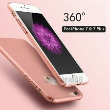 For iPhone 7 & 7 Plus Luxury Ultra Thin Slim Hard Matte Back Skin Case Cover NEW