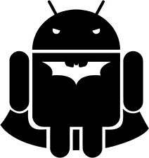Android - Batdroid - Vinyl Car Window and Laptop Decal Sticker