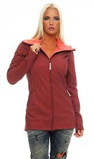 BENCH - THE B - Red - Women's Softshell Jacket - Parka - NEW