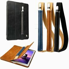 Genuine Leather Case Cover Sleeve Pouch Bag Holder for Apple iPad Pro Pencil #IR