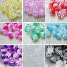 Wholesale 8MM Round Acrylic Beads Spacer Bead Charms (50 pcs)  DIY Jewelry Craft