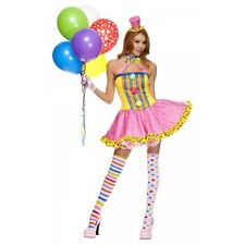 Clown Costume Adult Sexy Halloween Fancy Dress