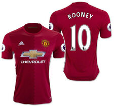 ADIDAS WAYNE ROONEY MANCHESTER UNITED HOME JERSEY 2016/17