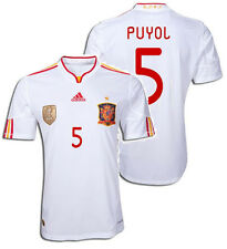 ADIDAS CARLES PUYOL SPAIN AWAY JERSEY 2010/12.