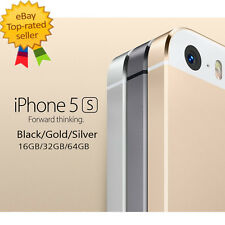 Apple iPhone 5S 16/32/64G Factory Unlocked Smartphone Gold Silver Gray & 5C 16G