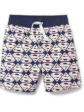 OLD NAVY Boys Swimsuit Size 12 18 months SUPERMAN Swim Bottoms Baby 35 UPF NEW