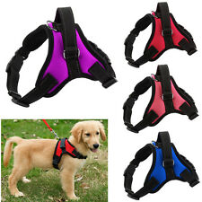 New Adjustable Large Dog Control Harness Pet Puppy Doggie Soft Vest Harness S-XL