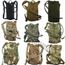 Hydration System Survival Water Bag Pouch Bladder Backpack Hiking Climbing 2.5L