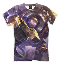 T-shirt fullprint League of Legends Blitzcrank