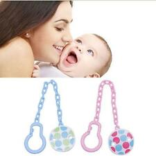 Infant Boy Pacifier Dummy Soother Toddler Toy New Chain Clip Girl Holder Baby