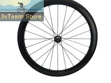 60mm Straight Pull Carbon Road Bike Wheel Front and Rear Bicycles Wheel R36 Hub