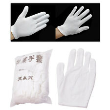 Hot Lightweight 12 Pairs Inspection Cotton Lisle Work Gloves Coin Jewelry New