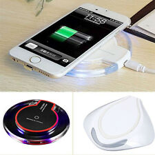 QI Wireless Power Fast Charger Charging Pad Mat Receiver For iPhone 6 6 Plus