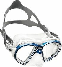 Cressi Air Crystal Dive Mask, Crystal Silicone Scuba Snorkeling, (Made in Italy)
