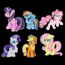 10pcs/set My Little Pony Embroidered Iron/Sew/Glue On Patches Applique Motif