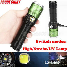 Waterproof 5000Lumens  L2 LED Flashlight Scuba Diving Underwater 500M Torch Lamp