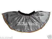 Designer Short Skirt Satin Fabric Mini Sexy Short Skirt For Girl With Gold Trim
