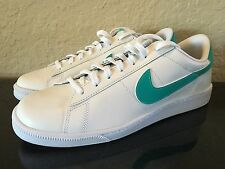 NIKE TENNIS CLASSIC CS - WHITE / CLEAR JADE LEATHER SHOES