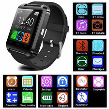 Bluetooth Smart Wrist Watch Phone Mate For IOS Android IPhone Samsung HTC LG BA
