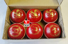 6x Match Quality Cricket Ball Grade A Cricket Ball Senior 5.5oz Cricket Bat Ball