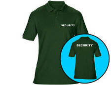 10 X Embroidered Security Mens Polo Shirts Workwear (6 Colours)