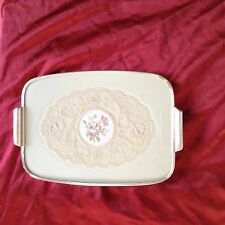 Vintage 1950's Ladies Petit Point Dressing Table Vanity Tray