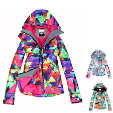 Women Snowboard Jacket Waterproof Winter Warm Hooded Snow Ski Coat Jacket