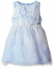 RARE EDITIONS Girls Lace Bodice Tiered Mesh Tulle Ballerina Social Dress 2T NWT
