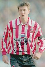 SOUTHAMPTON HAND SIGNED MATT LE TISSIER 12X8 PHOTO 16.