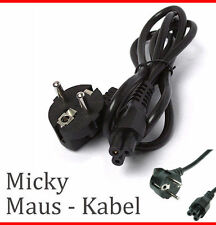 GERMAN MICKYMOUSE MICKEY MOUSE KABEL STROMKABEL NOTEBOOK POWERCORD CABLE 3-PIN 2