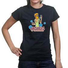 Hipster Scoob Funny Gift Womens Ladies T shirt Tee Top T-shirt