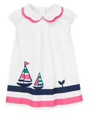 NWT Gymboree Stripes and Anchors Sailor Sailboat Dress 6 12 18 24M 2T Toddler