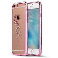 Nice Luxury Shiny Peacock Rhinestone Silicone Case For iPhone 6 6S Soft Cases 1x