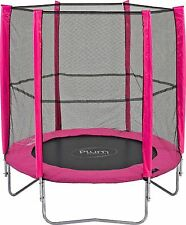 Plum 6ft Trampoline and Enclosure Pink Girls - Tatty Box