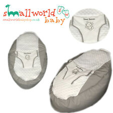 Personalised Grey Teddy Baby Bean Bag (NEXT DAY DISPATCH)