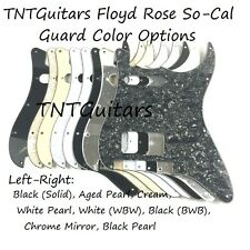 SoCal HS FLOYD ROSE Strat Pickguard, Charvel Style Color Choice FR SO-CAL CUSTOM