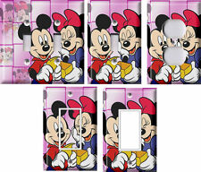 Mickey and Minnie Mouse - Light Switch Covers Home Decor Outlet