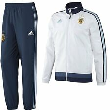 *ADIDAS - ARGENTINA PRESENTATION SUIT WHITE = SIZE ALL ADULTS