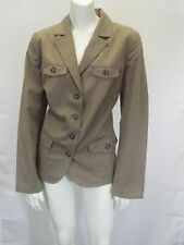 NWT Northern Reflections Taupe Jacket/ Blazer Sz S M  10090RM
