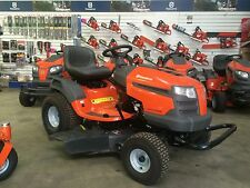 AS NEW Husqvarna LTH2142DR Ride On Mower, Diff Lock, ONLY 5 HOURS USE $4399 New!